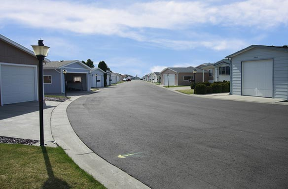 Paved Roads Quiet Community